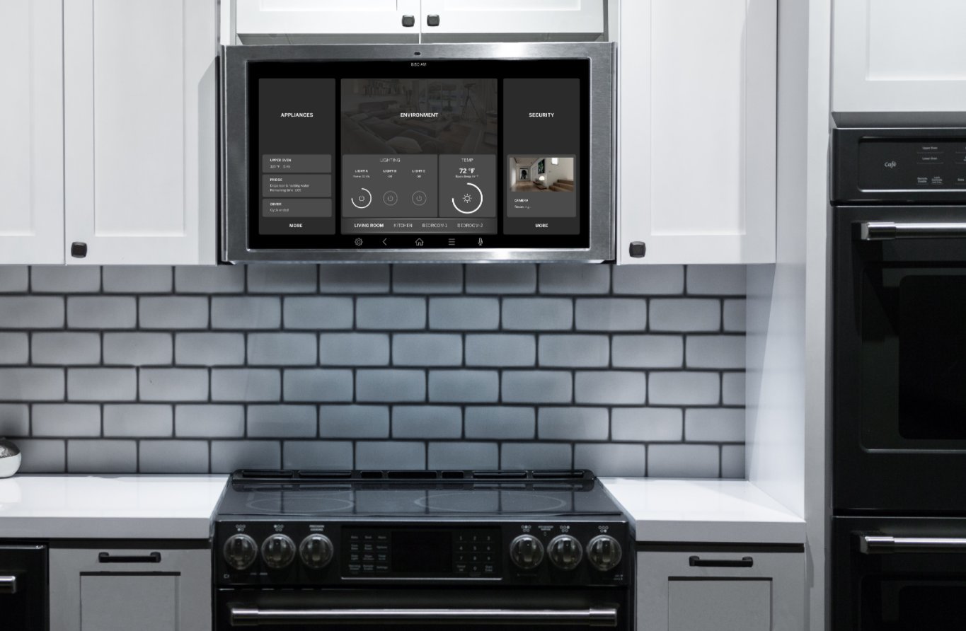 The Battle For The Kitchen Screen Got A Lot More Interesting At Ces 2018